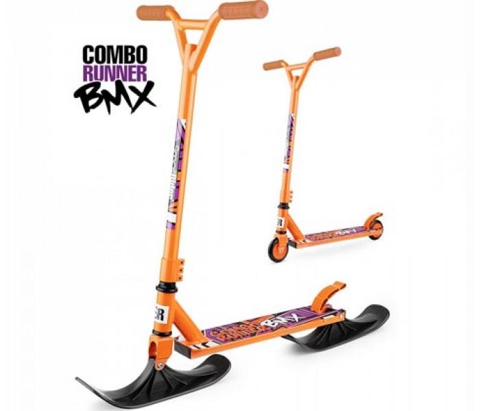 Самокат на лыжах Small Rider Combo Runner BMX (оранжевый)