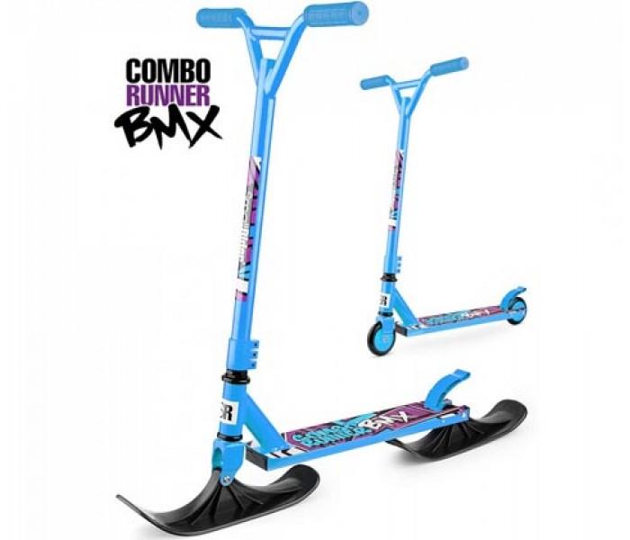 Самокат на лыжах Small Rider Combo Runner BMX (синий)