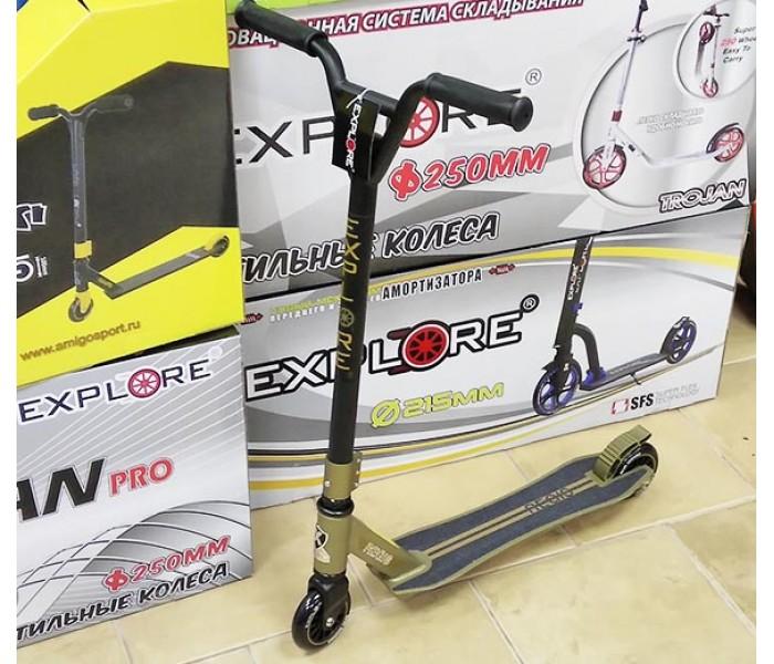 Трюковой самокат Explore Regis 2018 для экстремального катания
