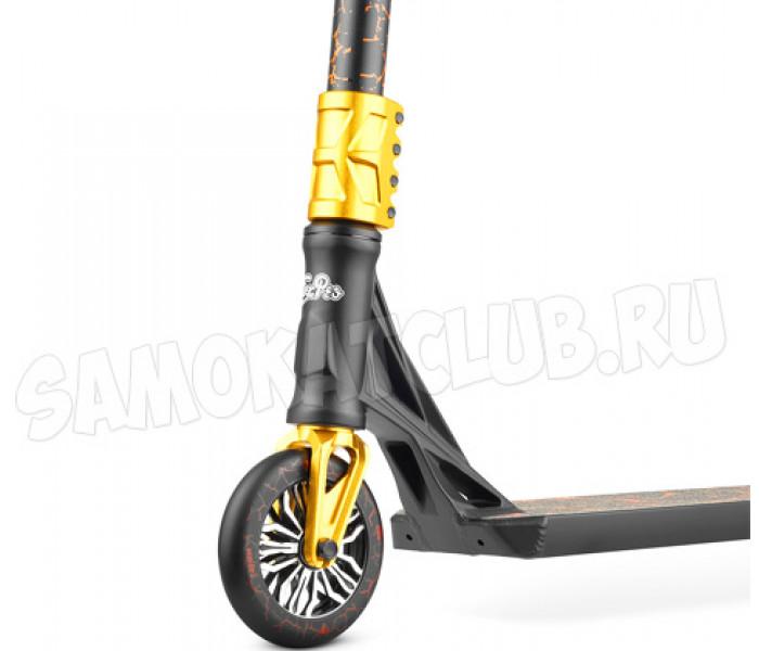 Самокат трюковой Fox Boom 525 black/gold 2021