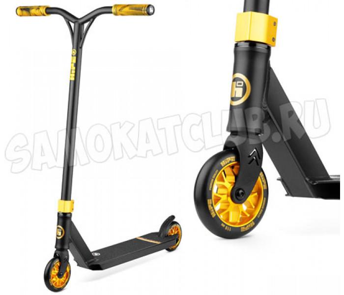 Самокат для трюков Hipe H3 Black/Gold 2020