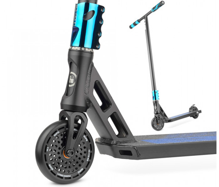 Cамокат трюковой HIPE XL Black/Neo Blue 2021