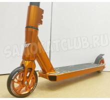 GANG #3 Orange 2020г трюковой самокат с высоким рулем + ПОДАРОК!