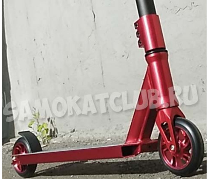 Трюковой самокат GANG #3 HIC колесо 110мм (красный)