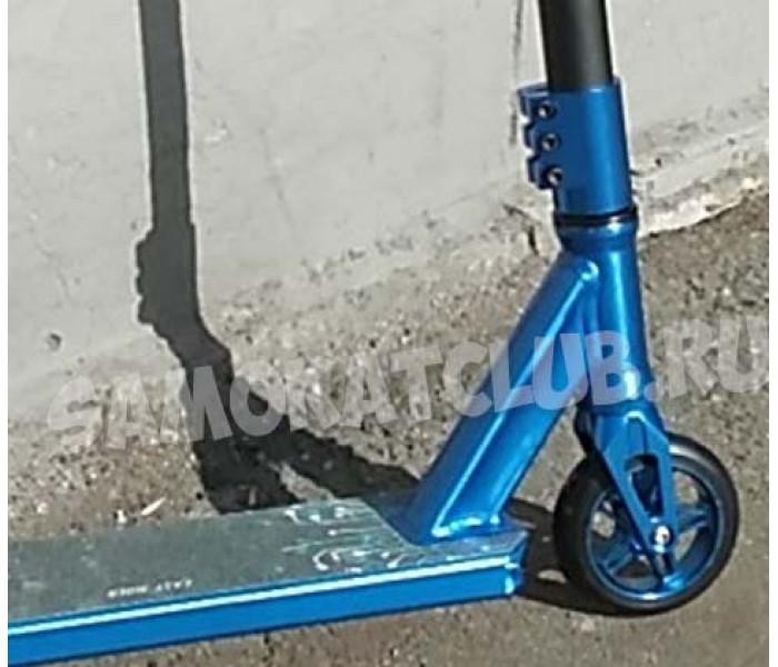 Трюковой самокат GANG #3 HIC колесо 110мм (синий)