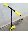 Трюковой самокат Race Spirit Stunt 2020 желтый