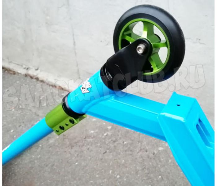 Трюковой самокат Race Spirit Master Series голубой