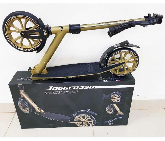 Самокат TechTeam TT JOGGER-230  (2019) бронза с большими колесами