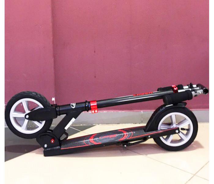 Складной самокат TT LASER черный с надувными колесами