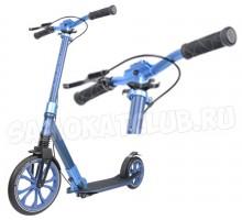 Самокат Tech Team TT 270 Sport с ручным тормозом (синий)