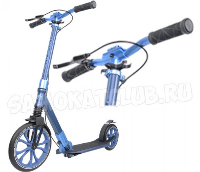 Самокат Tech Team TT 270 Sport для взрослых (синий)