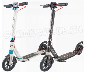 TT City Scooter Disk Brake (2019) самокат с дисковым тормозом и амортизаторами