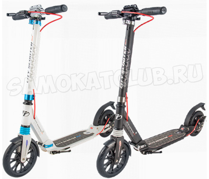 Самокат Tech Team TT City Scooter Disk Brake 2019