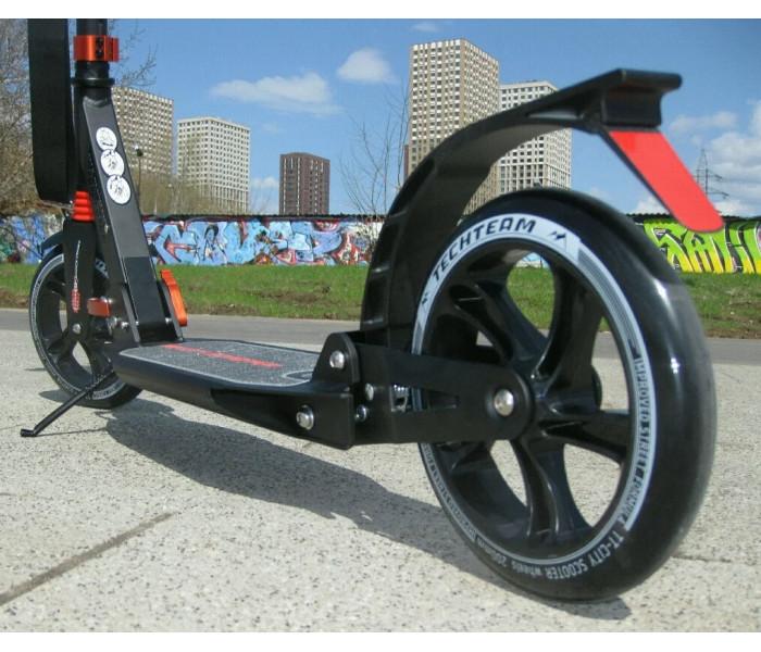 Самокат Techteam TT City Scooter New 2019г. черный
