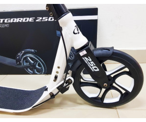 Cамокат Tech Team TT Avantgarde 250 (2019) с ручным тормозом (белый)