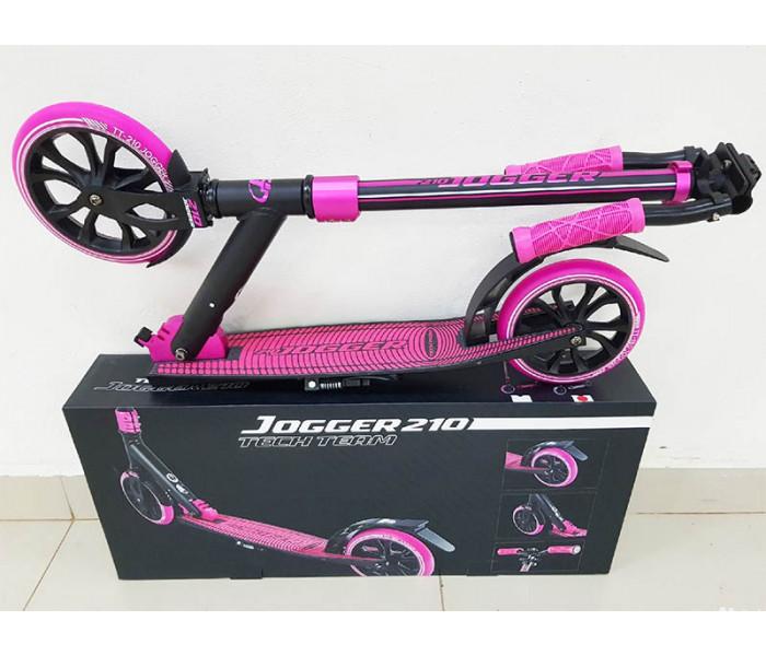 Самокат TechTeam TT JOGGER-210  (2019) розовый