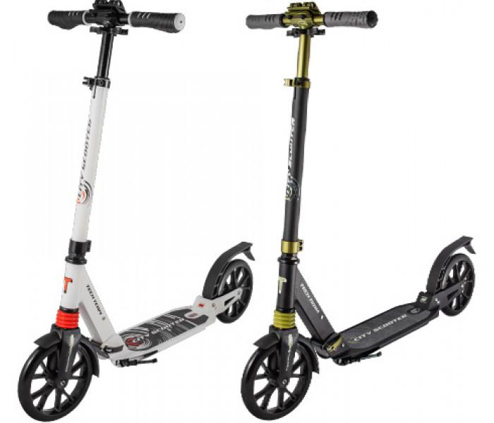 Самокат TechTeam City Scooter 2020 с большими колесами