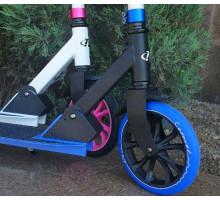 Самокат TechTeam TT CARAVEL 210 (2020) розовый, синий