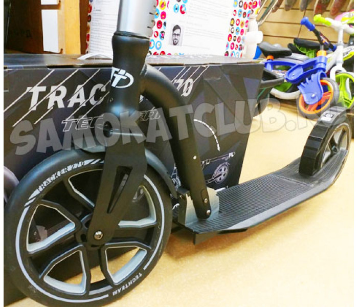 Cамокат  TechTeam 270 Tracker (2020) с большими колесами (черный)