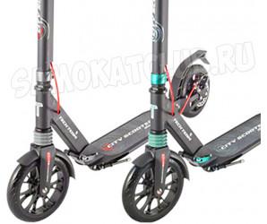 TT City Scooter Disk Brake (2020) самокат с дисковым тормозом и амортизаторами