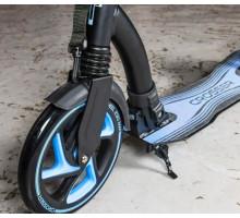 Cамокат Tech Team TT CROSSER 2020 с амортизатором (черно-голубой)