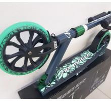 Cамокат Tech Team JOGGER 210 (2020) зеленый