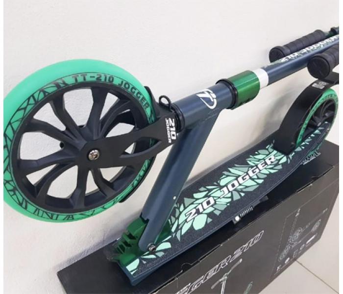 Самокат TechTeam TT 210 JOGGER Green (2020)