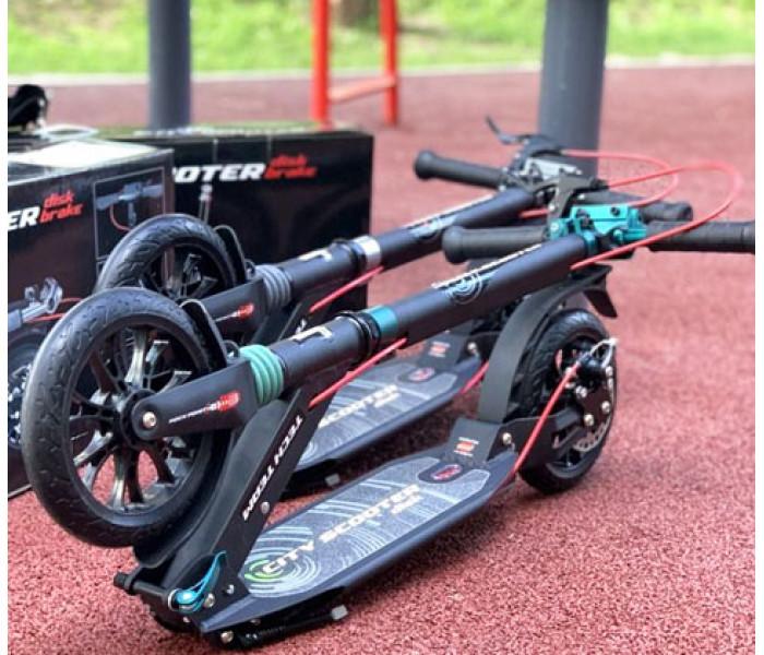Самокат Tech Team TT City Scooter Disk Brake 2020