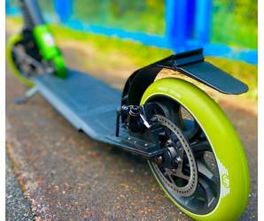 Tech Team TT Sport 210R GREEN самокат с ручным дисковым тормозом