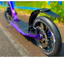 Самокат Tech Team TT Sport 230R фиолетовый с ручным дисковым тормозом