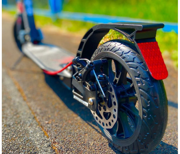 Самокат Tech Team TT City Scooter Disk Brake 2021 черный