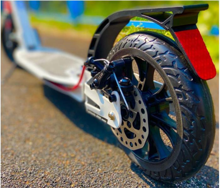 Самокат Tech Team TT City Scooter Disk Brake 2021 белый