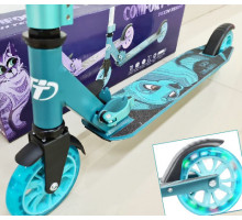 TT Comfort 125R (2021) Blue со светящимися колесами
