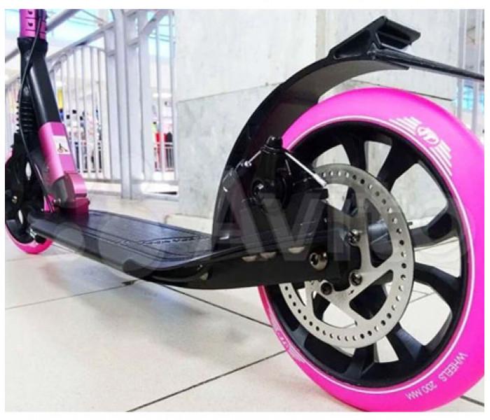 Самокат TECH TEAM TT Sport 210R (2021) черно/розовый