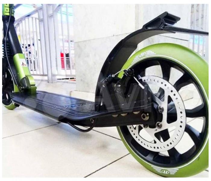 Самокат TECH TEAM TT Sport 210R (2021) черно/зеленый