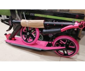 Cамокат Tech Team TT Tracker 200 Pink (2021) для девушек