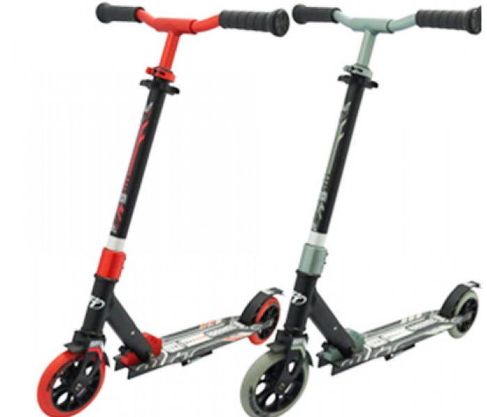 Самокат Tech Team TT JOGGER 145 (2021) черный для детей и подростков