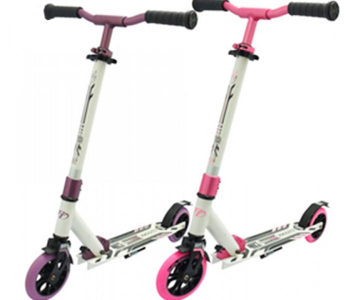 Самокат Tech Team TT JOGGER 145 (2021) розовый для детей и подростков