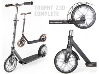 Большой нескладной самокат Trophy Complete 230 (2021). Без звука и люфта!
