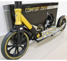 Самокат Tech Team Comfort 230R Золотой