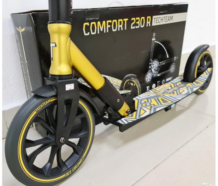 Самокат Tech Team Comfort 230R 2021 GOLD