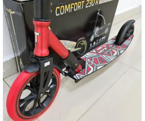 Самокат Tech Team Comfort 230R Красный