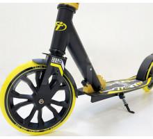 Cамокат Tech Team JOGGER 210 (2021) черно-желтый
