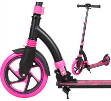 Cамокат Tech Team TT CROSSER 2020 с амортизатором (розовый)