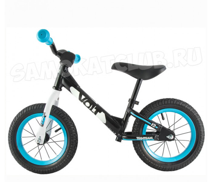 Беговел детский TT VOLT с надувными колесами (синий)