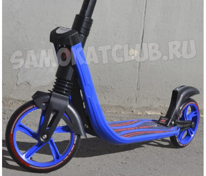 Самокат TT Tech Team 210 Concept c амортизаторами (синий)