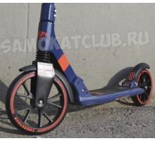 Самокат Tech Team TT Crosstour для взрослых (синий)