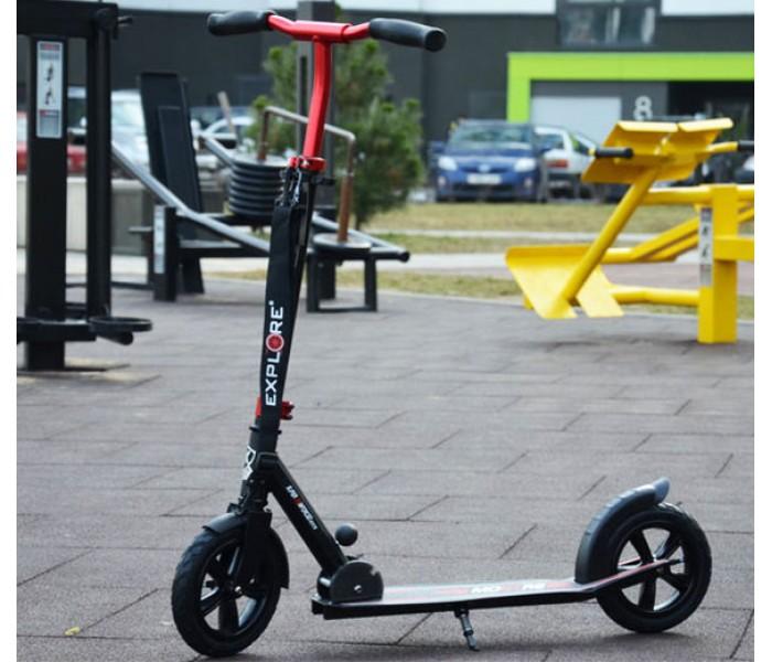 Самокат с надувными колесами Explore Montre
