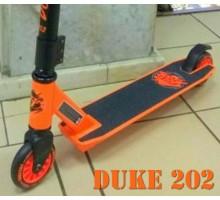 Tech Team TT DUKE 202 2019 оранжевый трюковой самокат