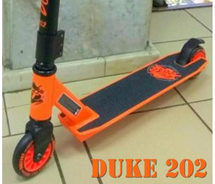 Трюковой самокат TT DUKE 202 2019 оранжевый в СПб для начинающих